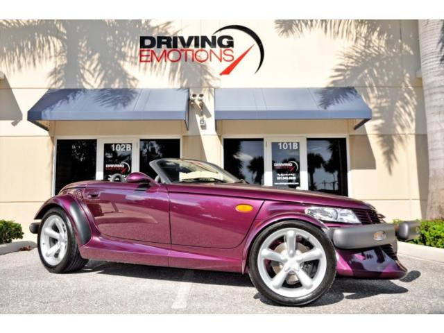 1999 Plymouth Prowler Base Convertible 2-Door 1999 PLYMOUTH PROWLER! PURPLE/AGATE! ONLY 250 MILES! COLLECTOR QUALITY! RARE!!