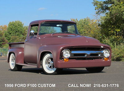 1956 Ford Other Pickups F100 custom hot rod pickup truck 454 V8 700R4