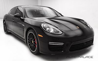 2014 Porsche Panamera Executive Porsche Panamera Black with 25,866 Miles, for sale!