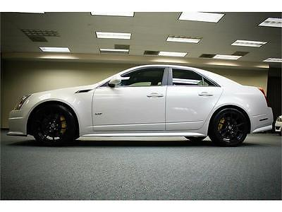 2011 Cadillac CTS -- 2011 CADILLAC CTSV CTS-V SEDAN 1 OWNER ONLY 21K MILES ADULT OWNED PERFECT RARE!!