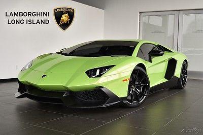 2014 Lamborghini Aventador LP720-4 50th Anniversario Limited Edition - 1 of 100 Produced Worldwide