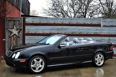 2001 Mercedes-Benz CLK-Class  1-Owner CLK430~Service Records since new~Updated Stereo~Nice Example