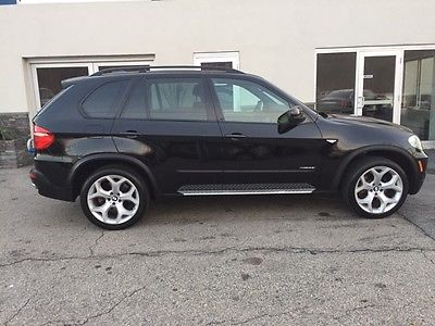 2009 BMW X5 4.8i Premium Sport Utility 4-Door 2009 X5 4.8L V8 xDrive48i Black on Black Sport 3rd Row Panoramic Roof