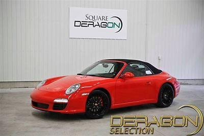 2009 Porsche 911 Carrera S Convertible 2-Door 2009 PORSCHE 911 CARRERA S + PDK + + SPORT CHRONO+ NAV + NEW TIRES