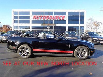 2012 Ford Mustang SHELBY GT500 2012 FORD MUSTANG SHELBY GT500 ELECTRONICS PKG, RECARO SEATS, LOW MILES. GT 500