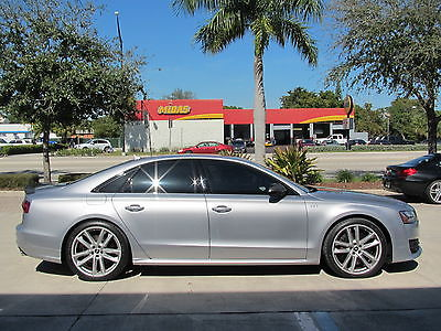 2016 Audi S8 S8 PLUS V8T QUATTRO TIPTRONIC 2016 16 AUDI S8 PLUS * QUATTRO * ONLY 4K MLS * $129k MSRP * BLACK OPTIC * CARBON