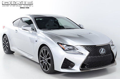 2015 Lexus RC F 2dr Coupe 2dr Coupe Loaded RC-F. Only 3,000 Miles. Immaculate Condition. 467hp V8. Navigat