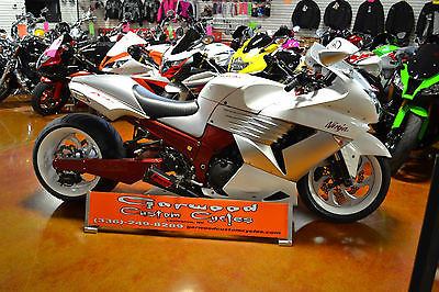 2008 Kawasaki Ninja  Custom 2008 Kawasaki ZX14 330 Wide Tire Swingarm Kit