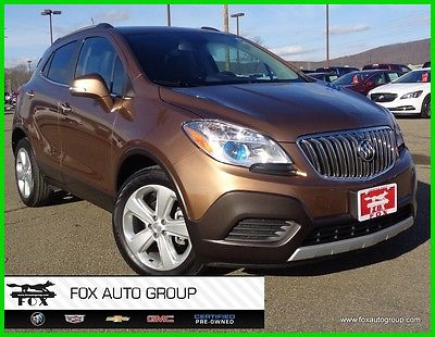2016 Buick Encore 2016 Used Certified Turbo 1.4L I4 16V Automatic FWD SUV OnStar