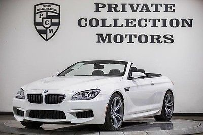 2013 BMW M6 Base Convertible 2-Door 2013 BMW M6 Convertible Highly Optioned 1 Owner Clean Carfax Pristine