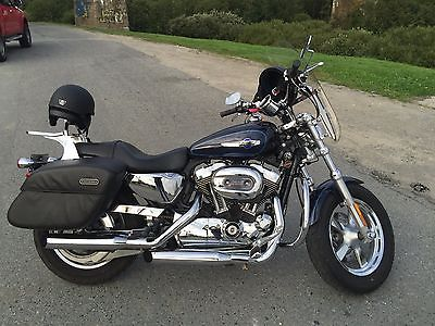 harley-davidson xl1200c full chrome, 2012