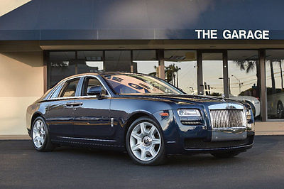 2014 Rolls-Royce Ghost 4dr Sedan '14 Rolls Royce Ghost,563HP,Drivers Assistance Pkg,Camera System,Pano,Mass Seats