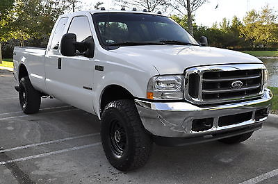 2000 Ford F-350 Lariat Extended Cab Pickup 4-Door 2000 Ford F-350 SRW Super Duty Lariat 4X4 Extended Cab 7.3L Diesel F250 F-250