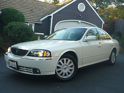 2005 Lincoln LS Luxury Sedan 4-Door California Car With Only 38,958 Original Miles Immaculate Condition None Nicer!!