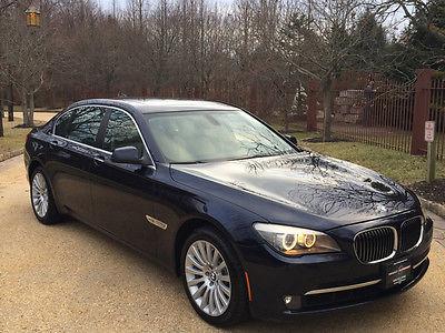 2011 BMW 7-Series  low mile free shipping warranty 750li awd 1 owner clean carfax luxury x cheap