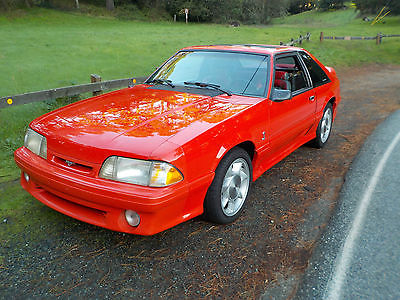 1993 Ford Mustang Cobra 1993 Ford Mustang Cobra. Future classic getting harder to find...