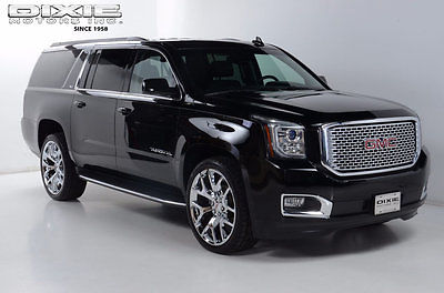 2015 GMC Yukon SLT - DVD - Luxury Package - Pwr 3rd Row - Denali LT - DVD - 24