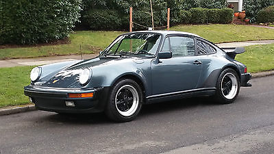 1987 Porsche 930 COUPE 2 OWNER 1987 PORSCHE 930 COUPE ONLY 40,712 ORIGINAL MILES ALL SERVICE HISTORY