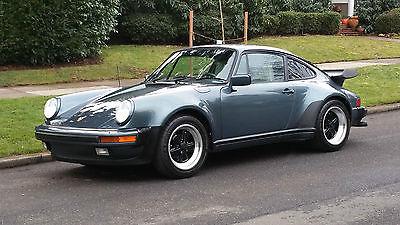 1987 Porsche 930 COUPE 2 OWNER 1987 PORSCHE 930 COUPE ONLY 40,712 ORIGINAL MILES ALL SERVICE HISTORY