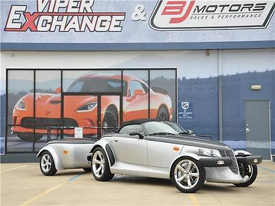 2001 Plymouth Prowler -- 2001 Plymouth Prowler Black Tie Edition and Matching Mopar Black Tie Trailer