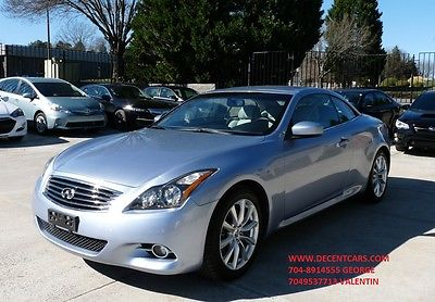 2011 Infiniti G37 Sport Convertible 2-Door 2011 Infiniti G37  Convertible  3.7L NAVIGATION BACK VIEW CAMERA PARK ASSIST