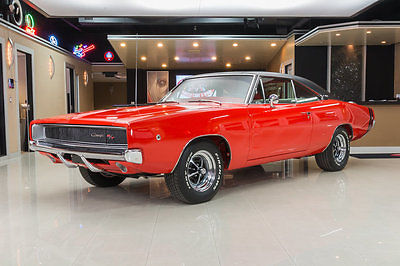 1968 Dodge Charger Rotisserie Restored! 440ci V8 w/ Six Pack, 4-Speed Manual, Vintage A/C, PS, PB!