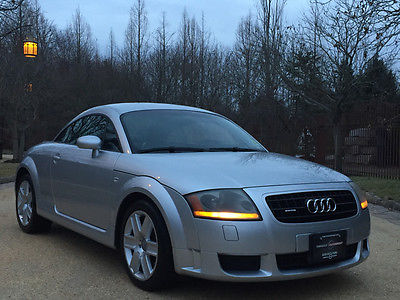 2004 Audi TT Base Coupe 2-Door 72k low mile free shipping warranty 1 owner quattro sporty loaded cheap