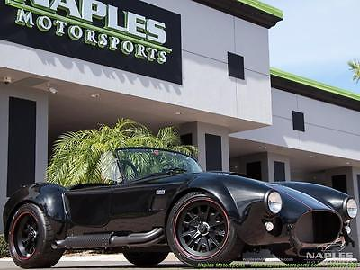 Replica Kit Makes 1965 Shelby Backdraft Cobra 427