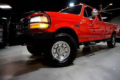 1997 Ford F-250 XLT EXTENDED 7.3L DIESEL 4X4 46K 1997 Ford F-250 XLT Super cab 7.3L PowerStroke 4x4 Carfax 46k Miles TX