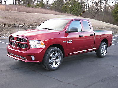 2013 Ram 1500 Express Crew Cab 4x4 Factory Warranty 2013 DODGE RAM 1500 EXPRESS - 4X4 QUAD CAB - HEMI - LOW MILES! WHOLESALE PRICE!!