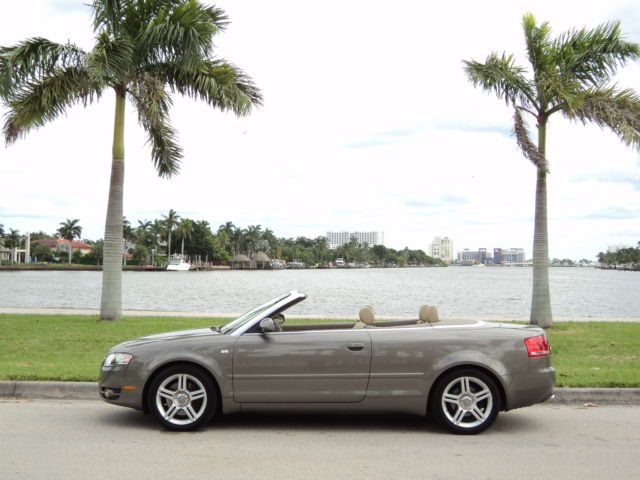 2008 Audi A4 Cabriolet Convertible 2-Door 2008 AUDI A4 TURBO QUATTRO AWD NON SMOKE ACCIDENT FREE NO BMW VOLVO NO RESERVE!