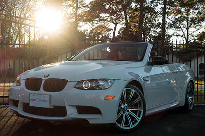 2008 BMW M Models M3 2008 BMW White M3 Convertible Manual!