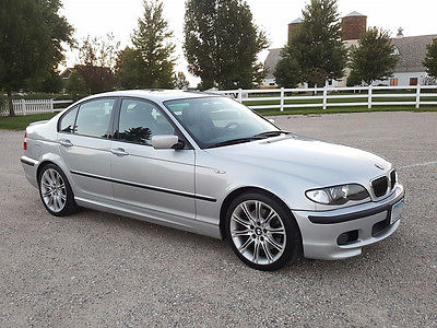 2003 BMW 3-Series ZHP Performance Package BMW 330i ZHP 6-speed Manual Performance Package M Sport Sedan 74k Miles
