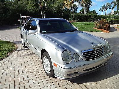 2002 Mercedes-Benz E-Class LORINSER MERCEDES BENZ 2002 E320 4 MATIC 59867 MILES SILVER / GRAY NAPLES FLORIDA CAR