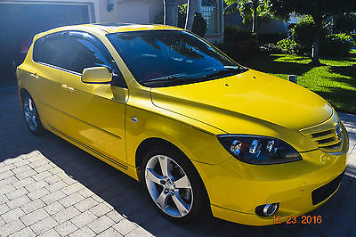 2004 Mazda Mazda3 Mazda3 S Hatchback Excellent Florida 2004 Mazda3 S Five Door Hatchback. Rare Solar Yellow Metallic!