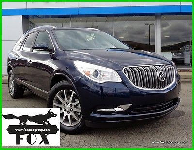 2017 Buick Enclave Leather 2017 Leather New 3.6L V6 24V Automatic AWD SUV OnStar
