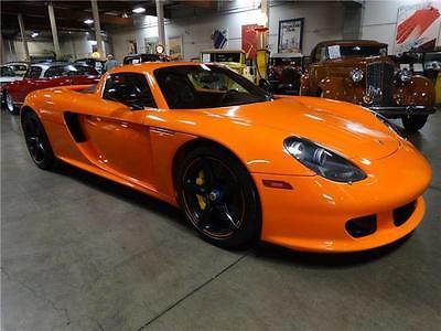 2004 Porsche Carrera GT -- 2004 Porsche Carrera GT 3,181 Miles 2dr Car 10 Cylinder Engine 5.7L/350 6-Spee