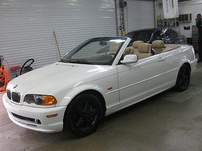 2002 BMW 3-Series 325Ci IMMACULATE CONVERTIBLE MANUAL STICK NONSMOKER FLORIDA FULLY SERVICED EXCEPTIONAL
