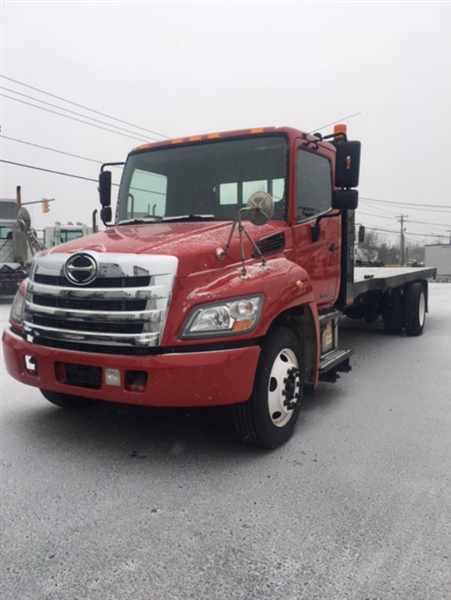 2011 Hino Hino 260  Flatbed Truck