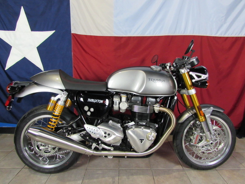 triumph thruxton r motorcycles for sale in texas. Black Bedroom Furniture Sets. Home Design Ideas