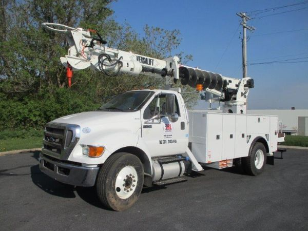 2015 Versalift Tmd-2050-T Crane Truck