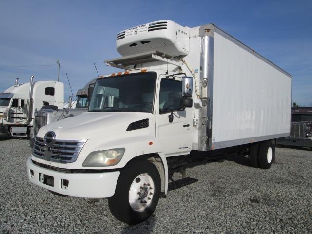 2009 Hino 268 Refrigerated Truck