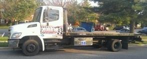 2011 Hino 258lp  Rollback Tow Truck