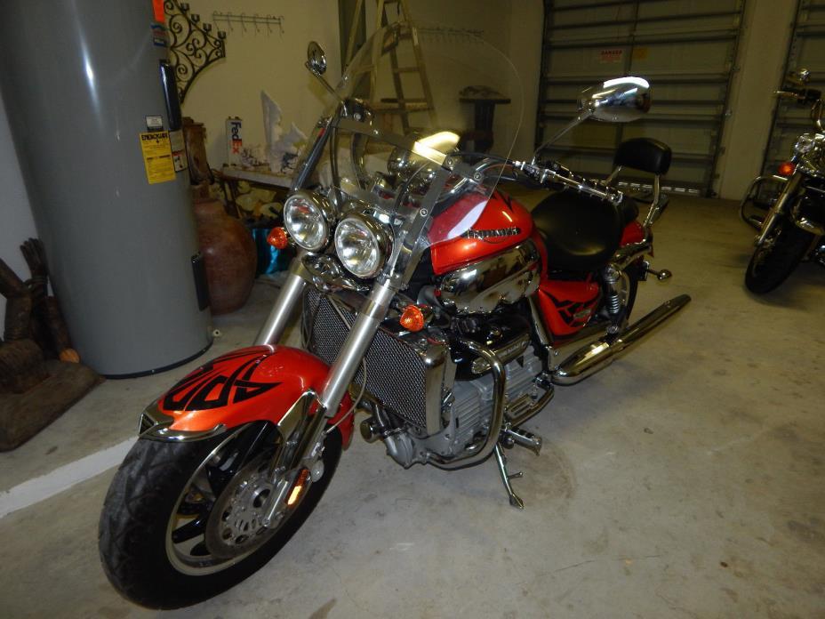 2005 Triumph Rocket III  Triumph Rocket III Motorcycle, Custom Bike, Mint Condition, Low Miles