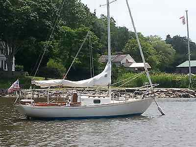 Sea Sprite 22 full keel sailboat, used, built 1980 fiberglass