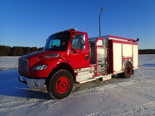 2016 Freightliner Ferrara Pumper Tanker Fire Truck  Fire Truck