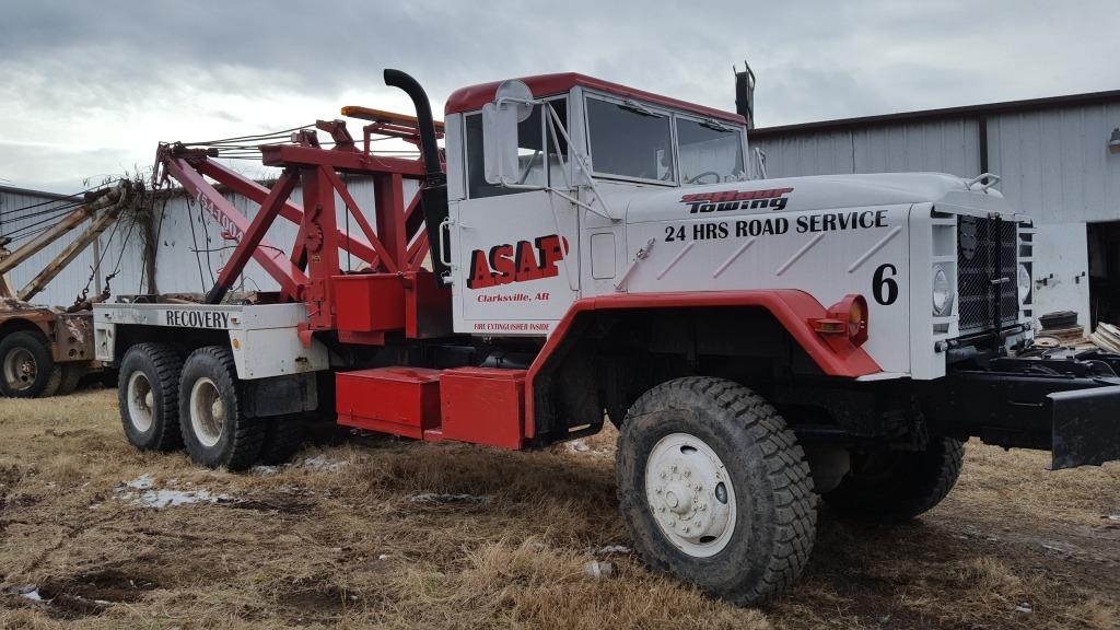 1984 Am General Truck  Wrecker Tow Truck