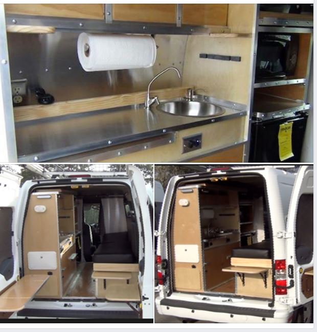 2012 Ford TRANSIT CONNECT CAMPERVAN