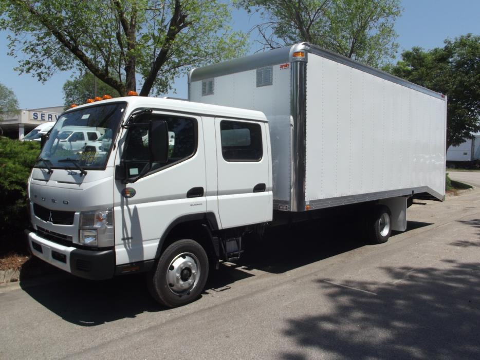2017 Mitsubishi Fuso Fe160cc Cabover Truck - COE