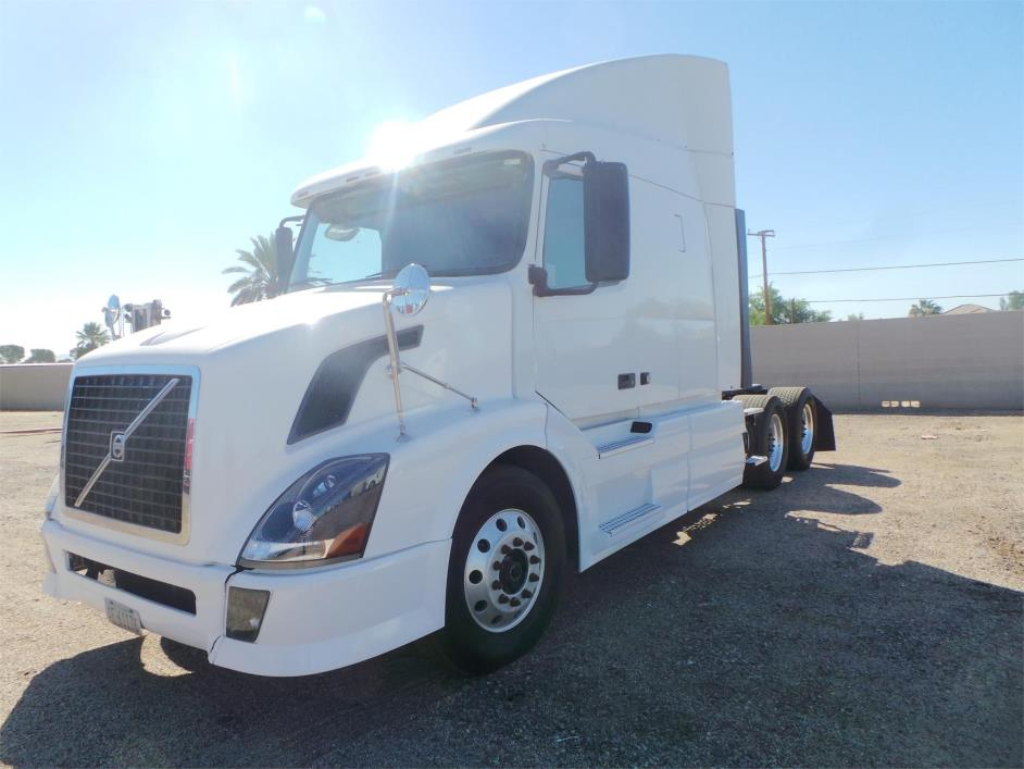 2009 Volvo Vnl42670 Cab Chassis